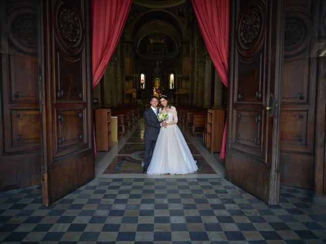 Il matrimonio di Mattia e Erica a Magenta, Milano 41