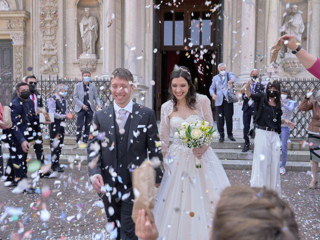 Il matrimonio di Mattia e Erica a Magenta, Milano 42