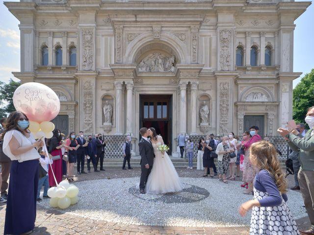 Il matrimonio di Mattia e Erica a Magenta, Milano 43