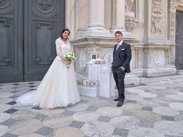 Il matrimonio di Mattia e Erica a Magenta, Milano 45