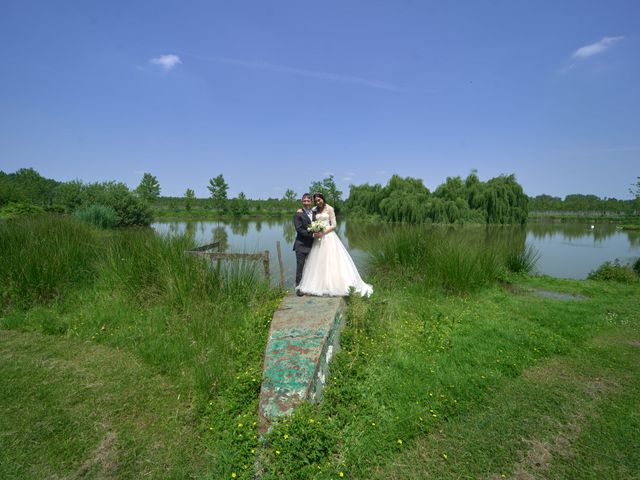 Il matrimonio di Mattia e Erica a Magenta, Milano 47
