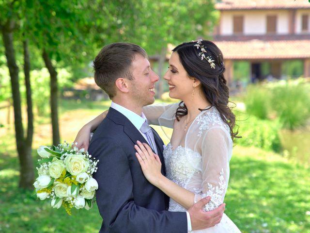 Il matrimonio di Mattia e Erica a Magenta, Milano 51