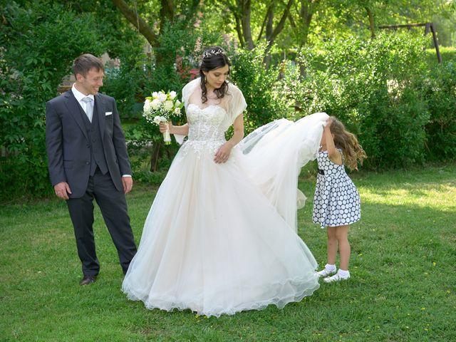 Il matrimonio di Mattia e Erica a Magenta, Milano 58