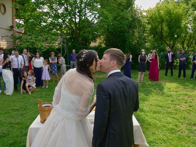 Il matrimonio di Mattia e Erica a Magenta, Milano 61