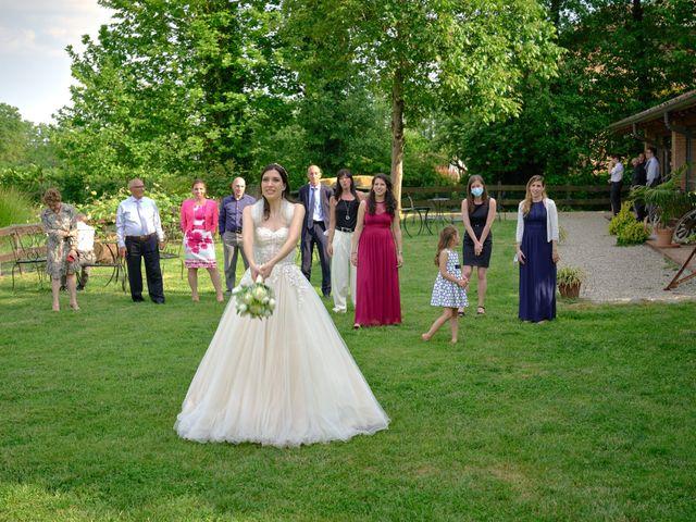 Il matrimonio di Mattia e Erica a Magenta, Milano 62