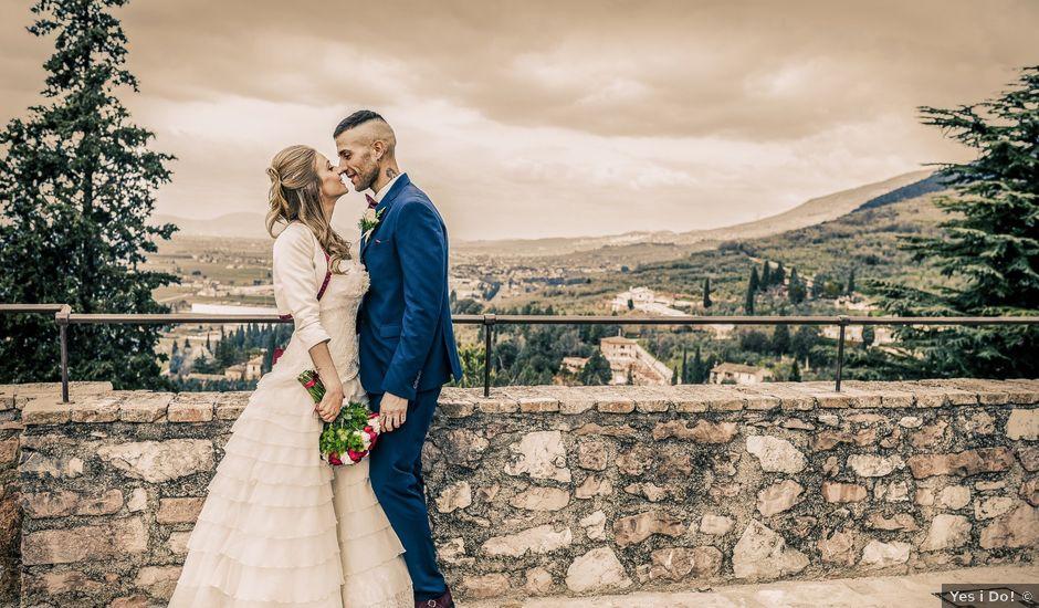 Il matrimonio di Luca e Jessica a Spello, Perugia