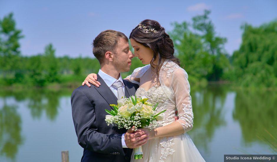 Il matrimonio di Mattia e Erica a Magenta, Milano