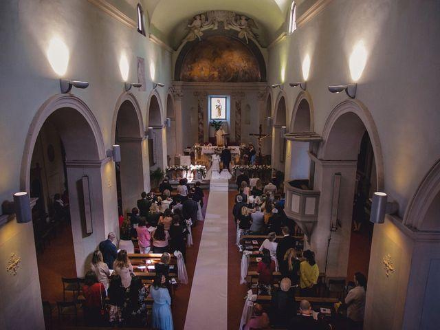 Il matrimonio di Marco e Teresa a Montespertoli, Firenze 10