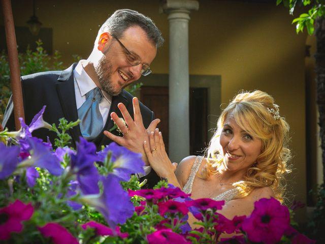 Il matrimonio di Marco e Teresa a Montespertoli, Firenze 12