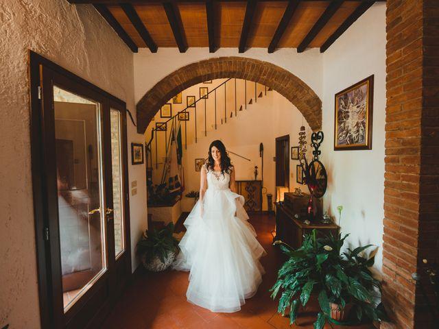 Il matrimonio di Leonardo e Valentina a Montespertoli, Firenze 19