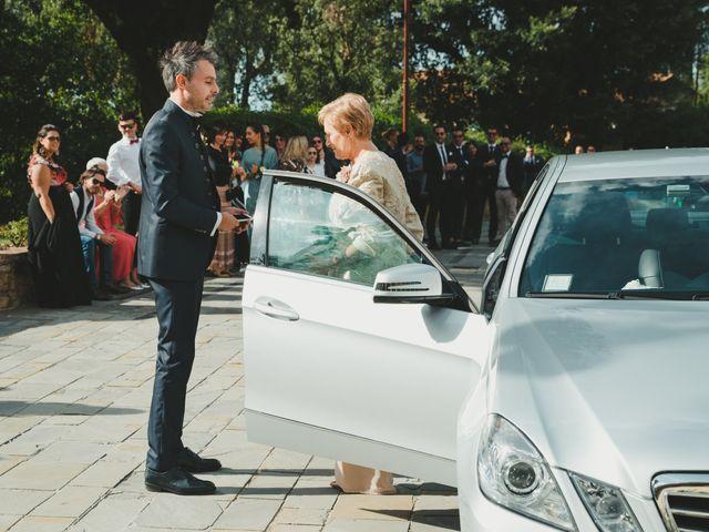 Il matrimonio di Leonardo e Valentina a Montespertoli, Firenze 24