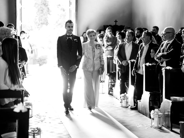 Il matrimonio di Leonardo e Valentina a Montespertoli, Firenze 27