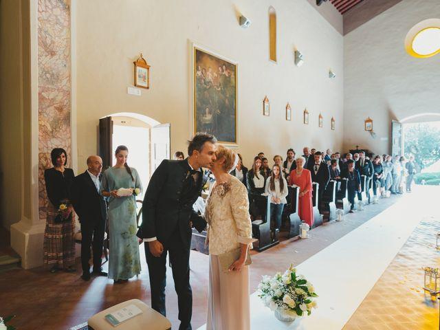 Il matrimonio di Leonardo e Valentina a Montespertoli, Firenze 28
