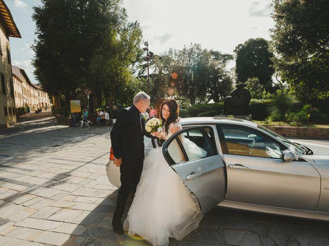 Il matrimonio di Leonardo e Valentina a Montespertoli, Firenze 29