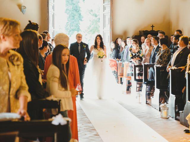 Il matrimonio di Leonardo e Valentina a Montespertoli, Firenze 31