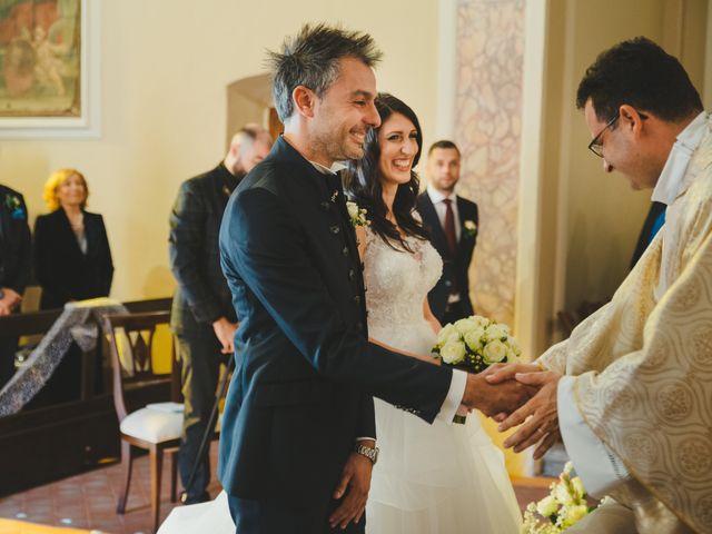 Il matrimonio di Leonardo e Valentina a Montespertoli, Firenze 33