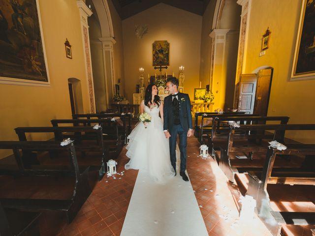 Il matrimonio di Leonardo e Valentina a Montespertoli, Firenze 42