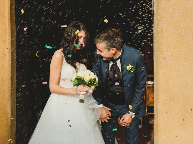 Il matrimonio di Leonardo e Valentina a Montespertoli, Firenze 43