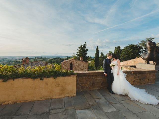 Il matrimonio di Leonardo e Valentina a Montespertoli, Firenze 45