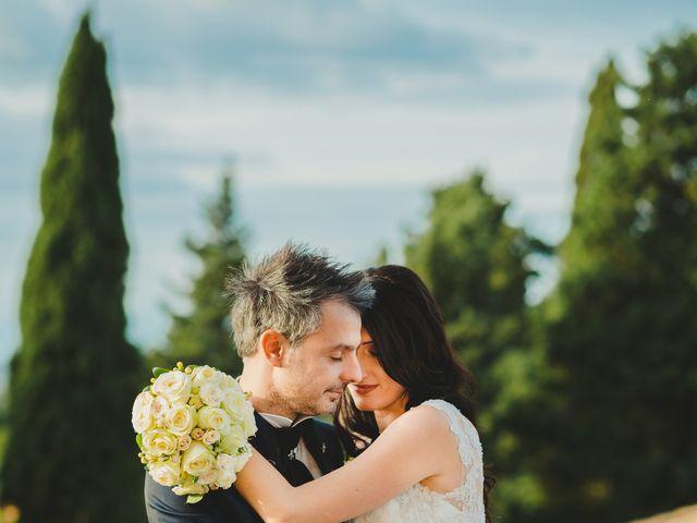 Il matrimonio di Leonardo e Valentina a Montespertoli, Firenze 1