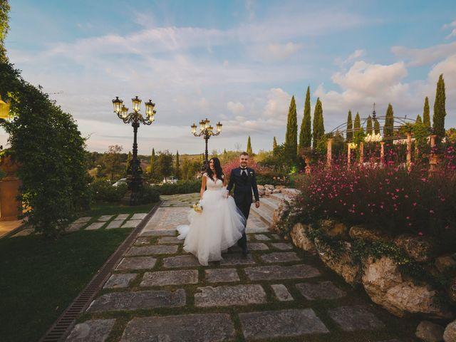 Il matrimonio di Leonardo e Valentina a Montespertoli, Firenze 48