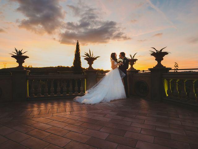 Il matrimonio di Leonardo e Valentina a Montespertoli, Firenze 2