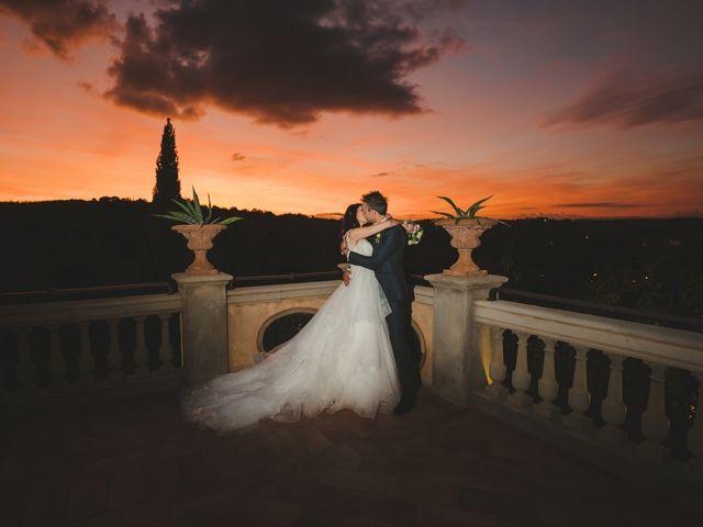 Il matrimonio di Leonardo e Valentina a Montespertoli, Firenze 49