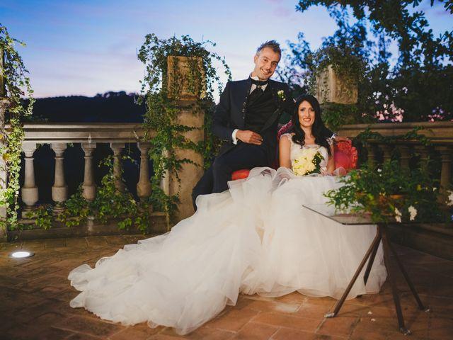 Il matrimonio di Leonardo e Valentina a Montespertoli, Firenze 53