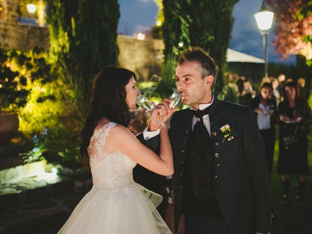 Il matrimonio di Leonardo e Valentina a Montespertoli, Firenze 55