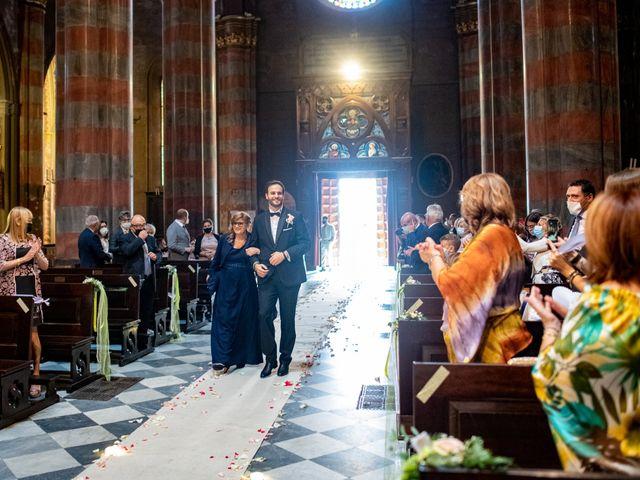 Il matrimonio di Alessio e Elisa a Vigevano, Pavia 32