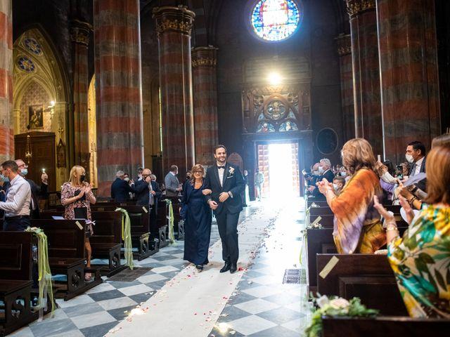 Il matrimonio di Alessio e Elisa a Vigevano, Pavia 33