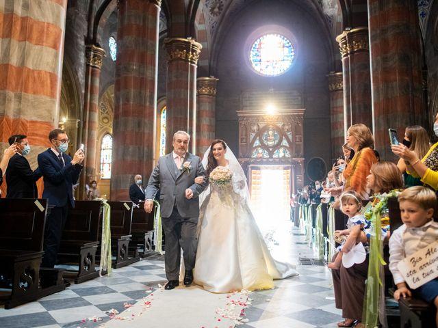 Il matrimonio di Alessio e Elisa a Vigevano, Pavia 40