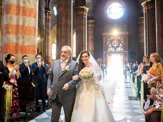Il matrimonio di Alessio e Elisa a Vigevano, Pavia 41