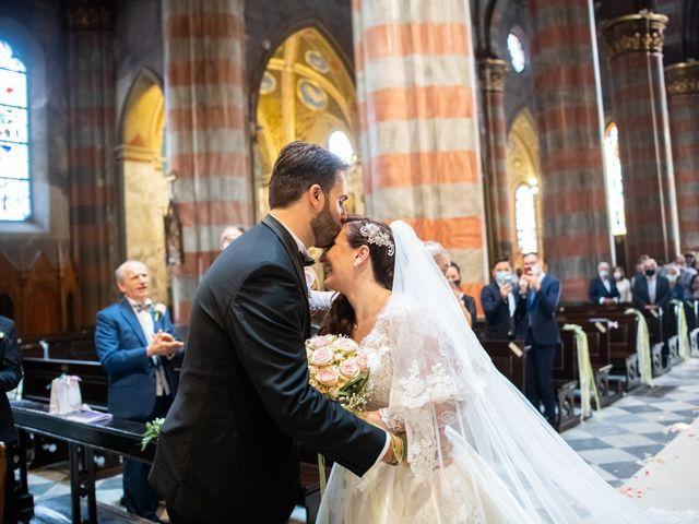 Il matrimonio di Alessio e Elisa a Vigevano, Pavia 42