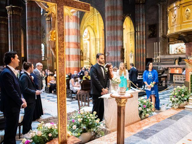Il matrimonio di Alessio e Elisa a Vigevano, Pavia 43
