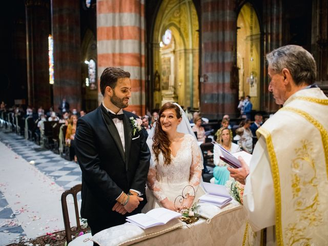 Il matrimonio di Alessio e Elisa a Vigevano, Pavia 45