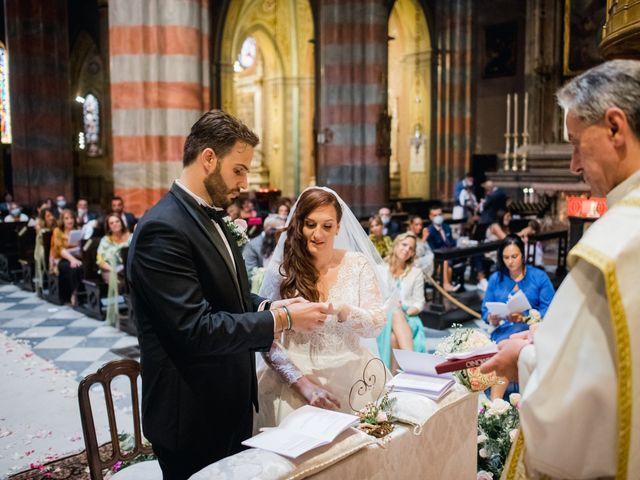 Il matrimonio di Alessio e Elisa a Vigevano, Pavia 47