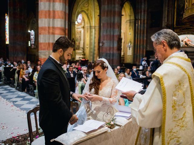 Il matrimonio di Alessio e Elisa a Vigevano, Pavia 48