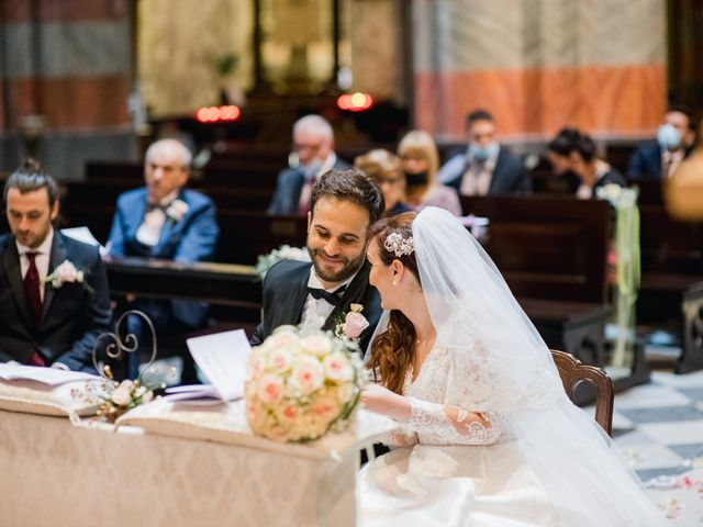 Il matrimonio di Alessio e Elisa a Vigevano, Pavia 49