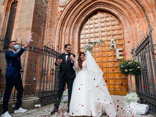 Il matrimonio di Alessio e Elisa a Vigevano, Pavia 55