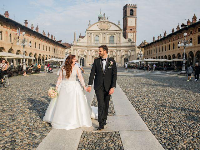Il matrimonio di Alessio e Elisa a Vigevano, Pavia 57