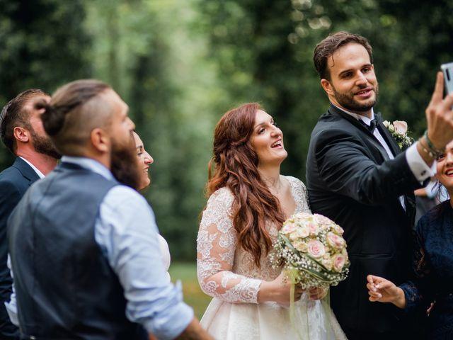 Il matrimonio di Alessio e Elisa a Vigevano, Pavia 81