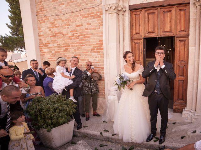 Il matrimonio di Mattia e Federica a Falconara Marittima, Ancona 35
