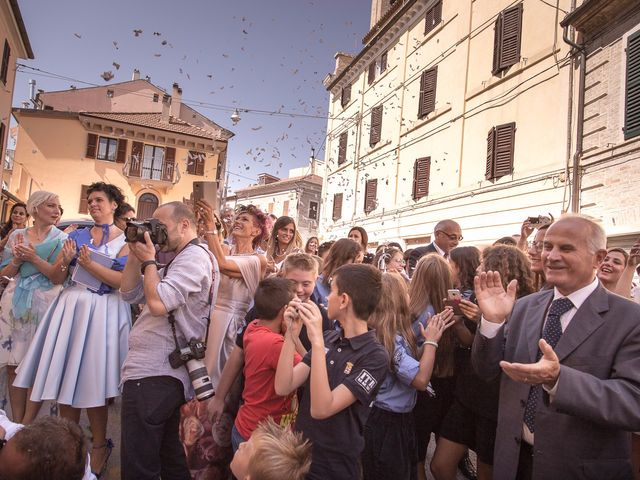 Il matrimonio di Mattia e Federica a Falconara Marittima, Ancona 36