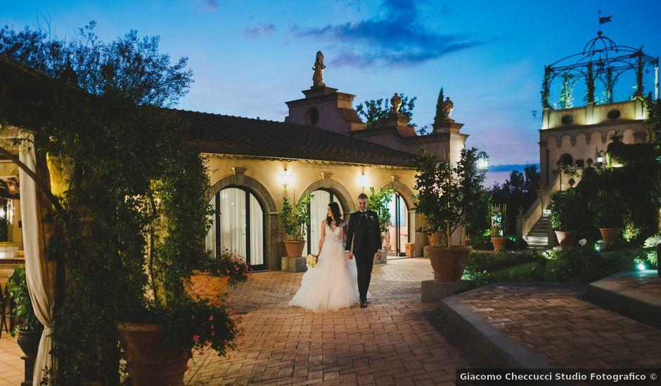 Il matrimonio di Leonardo e Valentina a Montespertoli, Firenze