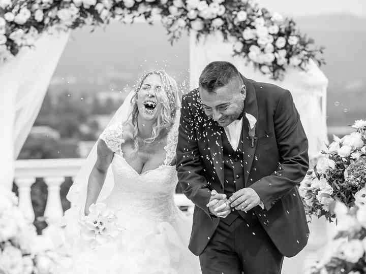 Le nozze di Laura e Danny