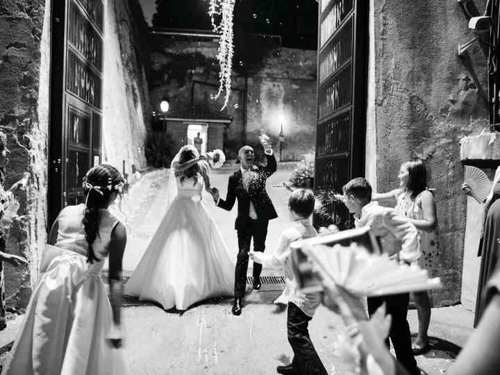 le nozze di Licia e Giuseppe