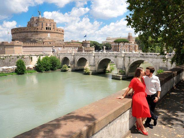 Il matrimonio di Giovanni e Giulia a Roma, Roma 7
