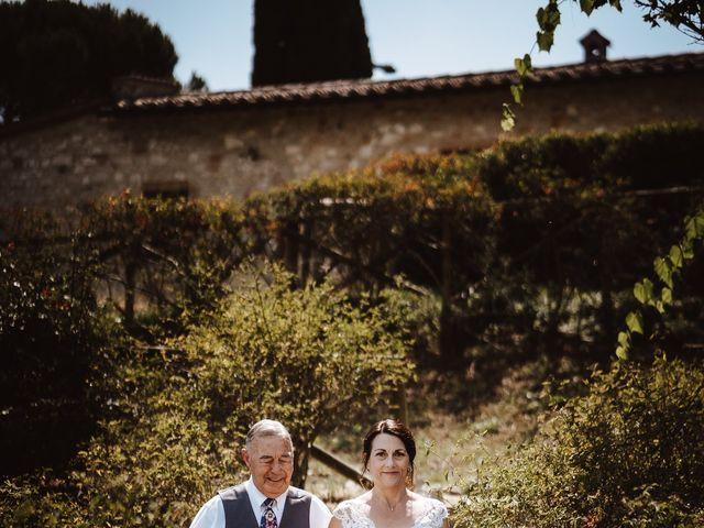 Il matrimonio di Adam e April a San Gimignano, Siena 3