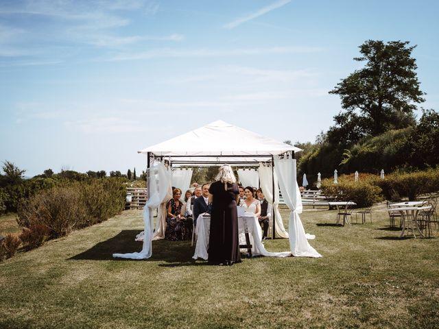 Il matrimonio di Adam e April a San Gimignano, Siena 5